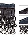 Extensions de cheveux humains Synthetique 120 24 Extension des cheveux
