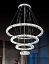 Lampe suspendue ,  Contemporain Chrome Fonctionnalite for Cristal LED MetalSalle de sejour Chambre a coucher Salle a manger Cuisine