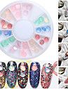 1pcs Nail Art Decoration Strass Pearls makeup Kosmetisk Nail Art Design