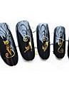 5 Nail Art-klistermärken Vattenövergångsklistermärke makeup Kosmetisk Nail Art-design