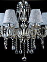 40 Chandelier ,  Modern/Contemporary Traditional/Classic Vintage Electroplated Feature for Crystal GlassLiving Room Bedroom Dining Room