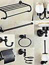 Badrumstillbehörsset / Oljegniden brons633*235 /Mässing /Antik /63 140 5.5
