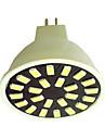 5W GU5.3(MR16) Spoturi LED G50 24LED SMD 5733 350LM-400LM lm Alb Cald / Alb Rece AC110 / AC220 V 1 bc