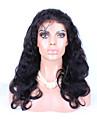 """8 """"-26"""" naturelle des cheveux de bebe noir vierge vague de corps de couleur de cheveux de la perruque sans colle perruque avant de lacet"""