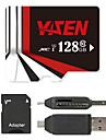 YISEN 128GB TF card Micro SD card card de memorie UHS-I U1 Class10