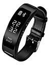 B03 Smart armbandVattenavvisande Stegräknare Hälsovård Sport Hjärtfrekvensmonitor Sömnmätare Stoppur Tidtagarur Information