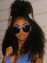 8-24 pouces afro crepus dentelle boucles perruques de cheveux humains pour les femmes noires 120% brazilian glueless naturel dentelle