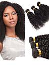 Tissages de cheveux humains Cheveux Malaisiens Tres Frise 1 Piece tissages de cheveux