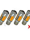 4x haute puissance de signal 7.5W queue de frein 1156py BAU15s led jaune ampoules 7507