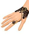 Smycken Klassisk/Traditionell Lolita Armband/Fotledsband Vintage-inspirerad / Prinsessa Svart lolita tillbehör Armband/FotledsbandRosett