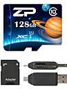 ZP 128GB Micro SD-kort TF-kort minneskort UHS-I U1 class10