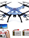 Drone SYMA X5HW 4 Canaux 6 Axes 2.4G Avec Camera Quadri rotor RCFPV Retour Automatique Securite Integree Mode Sans Tete Vol Rotatif De