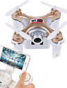 Drone Cheerson CX-10WD+TX 4 Canaux 6 Axes 2.4G Avec Camera Quadrirotor RCEclairage LED / Auto-Decollage / Failsafe / Vol Rotatif De 360