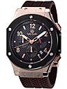 MEGIR Bărbați Ceas Sport Ceas Militar Ceas La Modă Ceas de Mână Quartz Piele Autentică Bandă Vintage Casual Luxos MulticolorAlb Negru Roz