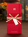 Personalized Tri-Fold Wedding Invitations Invitation Cards Engagement Party Cards-50 Piece/Set Artistic Style Hard Card Paper Ribbons Bows