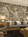 Blom Konst Dekor 3D Bakgrund För hemmet Nutida Tapetsering , Kanvas Material lim behövs Väggmålning , Tapet
