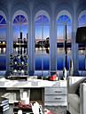 Konst Dekor 3D Bakgrund För hemmet Klassisk Tapetsering , Kanvas Material lim behövs Väggmålning , Tapet