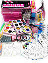 packning mängd spik kit nail art dekoration typ stil nail art diy 23sets