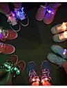 mode män kvinnor tänds ledde skosnören part glödande natt kör skosnören klubb höjdpunkt lysande skosnöre