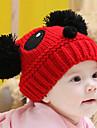 Fete Băieți Căciuli & Băști-Iarnă Îmbrăcăminte tricotată Maro Roșu Alb