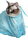 Katt Städning Trimnings redskap Husdjur Skötselprodukter Bärbar Blå Tyg