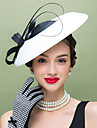 Women\'s Feather Polyester Headpiece-Wedding Special Occasion Casual Fascinators 1 Piece