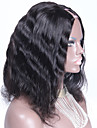 150% haute densite u onduleux naturel partie perruque de cheveux humains brazilian 12inch 1,5 * partie mediane 4inch upart perruques a
