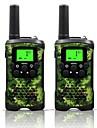 armygreen și camo pentru copii walkie talkie 22 canale și (până la 10 km în zone deschise) armygreen și stații de emisie pentru copii