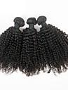 Tissages de cheveux humains Cheveux Bresiliens Tres Frise 6 Mois 3 Pieces tissages de cheveux