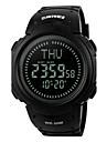 Bărbați pentru Doamne Ceas Sport Ceas de Mână Ceas digital LED LCD Compass Calendar Rezistent la Apă alarmă CronometruPiloane de Menținut