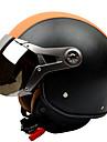 gxt g-288 casque de moto armee de l\'air retro casque lievre casque anti-buee moitie respirant casque