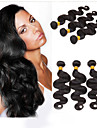 Human Hår vävar Brasilianskt hår Kroppsvågor 1 st. hår väver