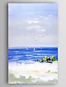 Pictat manual Peisaj Peisaje Abstracte Vertical,Modern Un Panou Canava Hang-pictate pictură în ulei For Pagina de decorare