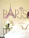 Romantic Modă Peisaj Perete Postituri Autocolante perete plane Autocolante de Perete Decorative,Hârtie Material Pagina de decorarede