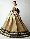 Fete / Soiree Robes Pour Poupee Barbie Cafe Lace Robes Pour Fille de Jouets DIY