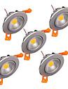5W Plafonniers 1 LED Haute Puissance 300-330 lm Blanc Chaud Blanc Froid Gradable Decorative V 1 piece
