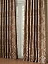 twopages® två paneler rokoko kronan omgavs energibesparing gardin drapera