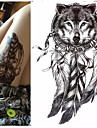 1 Tatouages Autocollants Series animales Series de totem Impermeable 3DHomme Femme Adolescent Tatouage Temporaire Tatouages ​​temporaires