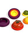 4 delar Morot Tomat Paprika Matlock For för frukt för grönsaker Silikon Miljövänlig Kreativ Köksredskap Originella