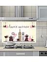 Stilleben Mode Fritid Väggklistermärken Väggstickers Flygplan Dekrativa Väggstickers,Papper Material Hem-dekoration vägg