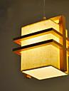 Lumini pandantiv ,  Modern/Contemporan Lemn Caracteristică for LED Lemn / bambus Dormitor Sufragerie Cameră Copii Coridor