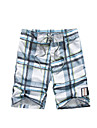 Bărbați Mărime Plus Size Larg Pantaloni Chinos Pantaloni Scurți Pantaloni Boho Activ Bloc de Culoare Carouri Casul/Zilnic Plajă Sporturi