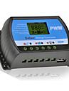20a 12v / 24v solpanel laddare controller batteri regulator med usb lcd PWM