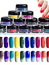 12pcs Manucure De oration strass Perles Maquillage cosmetique Nail Art Design