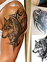 1 Tatouages Autocollants Series animales Series de totem Impermeable 3DFemme Adolescent Tatouage Temporaire Tatouages ​​temporaires
