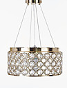 Lampe suspendue ,  Contemporain Traditionnel/Classique Rustique Retro Lanterne Batterie Plaque Fonctionnalite for Cristal Designers Metal