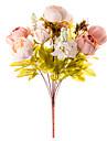 1 Une succursale Soie Pivoines Fleur de Table Fleurs artificielles 50 x 30 x 30(19.69\'\' x 11.81\'\' x 11.81\'\')