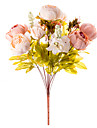 1 Gren Silke Pioner Bordsblomma Konstgjorda blommor 50 x 30 x 30(19.69\'\' x 11.81\'\' x 11.81\'\')