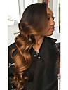 chaud!! T1B / 33 avant de dentelle de cheveux humains perruques 100% cheveux vierges brazilian perruques dentelle couleur naturelle