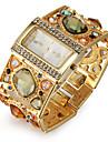 pentru Doamne Ceas La Modă Ceas Brățară Quartz Japonez imitație de diamant Quartz Aliaj Bandă Sclipici Elegant Luxos Auriu